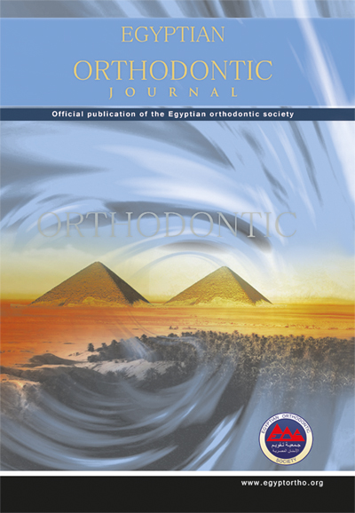 Egyptian Orthodontic Journal